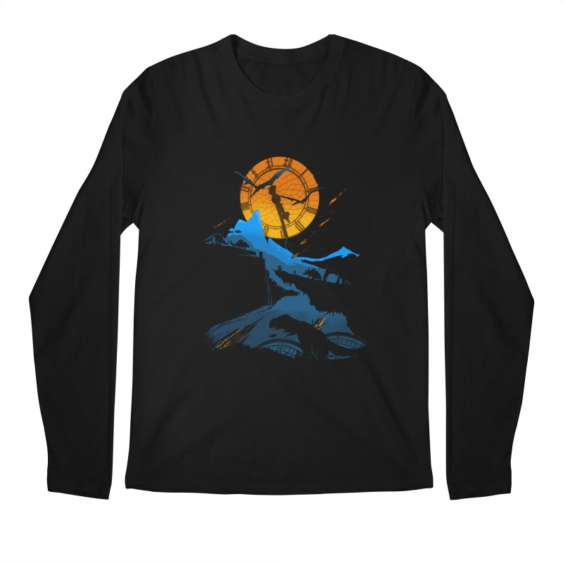 Last Days Men's Regular Longsleeve T-Shirt by Thomas Orrow