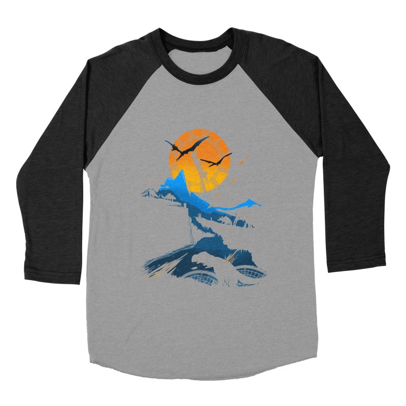 Last Days Men's Baseball Triblend Longsleeve T-Shirt by Thomas Orrow