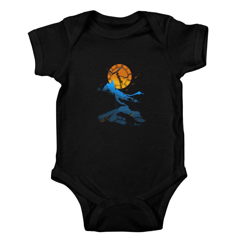 Last Days Kids Baby Bodysuit by Thomas Orrow