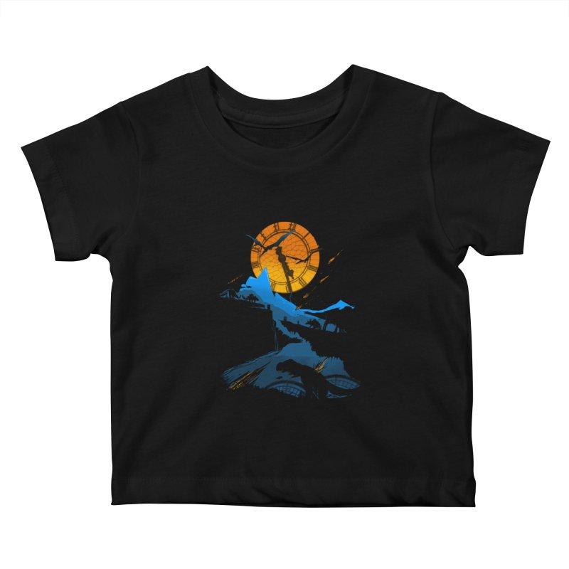 Last Days Kids Baby T-Shirt by Thomas Orrow