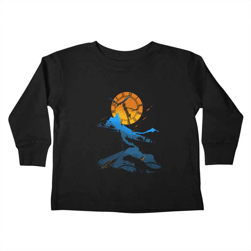 Last Days Kids Toddler Longsleeve T-Shirt by Thomas Orrow