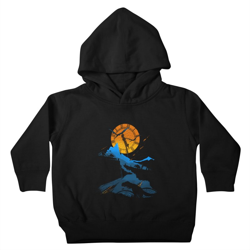 Last Days Kids Toddler Pullover Hoody by Thomas Orrow