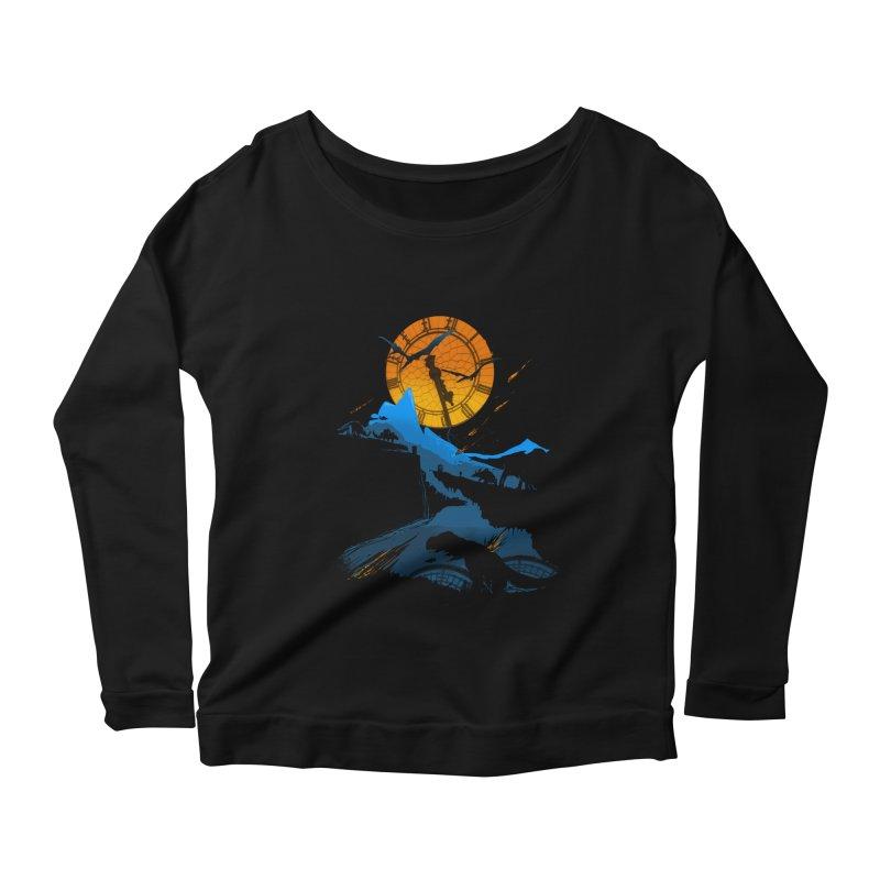 Last Days Women's Scoop Neck Longsleeve T-Shirt by Thomas Orrow