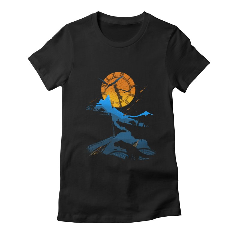 Last Days Women's Fitted T-Shirt by Thomas Orrow