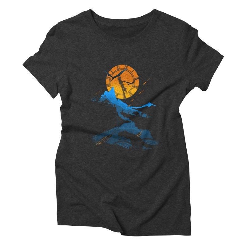 Last Days Women's Triblend T-Shirt by Thomas Orrow