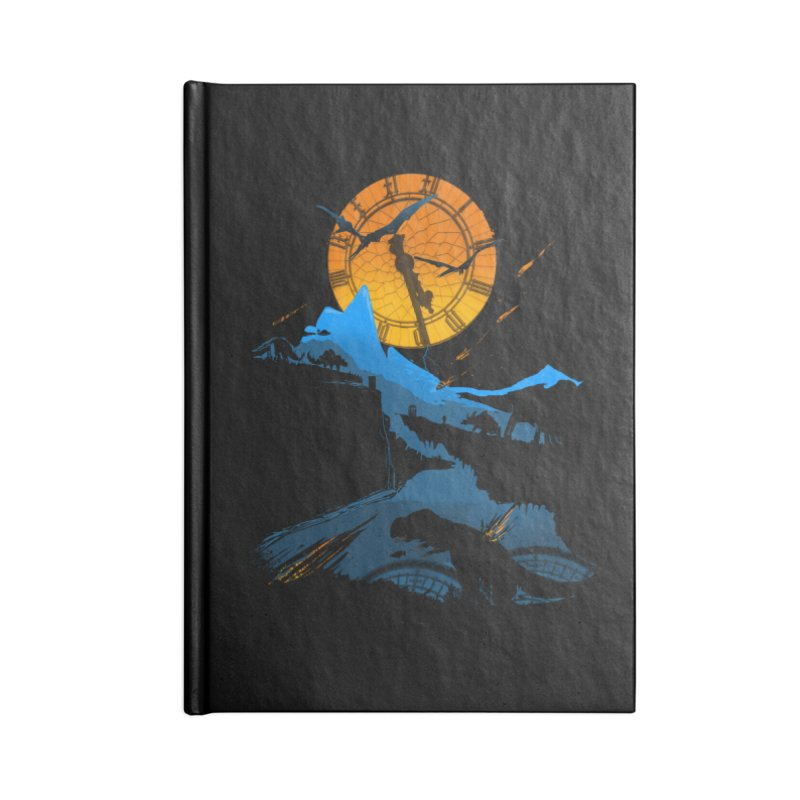 Last Days Accessories Blank Journal Notebook by Thomas Orrow