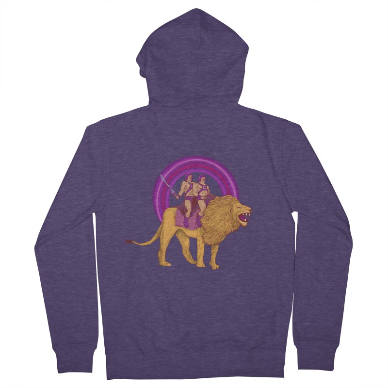 The Power of Love Men's French Terry Zip-Up Hoody by Thomas Orrow