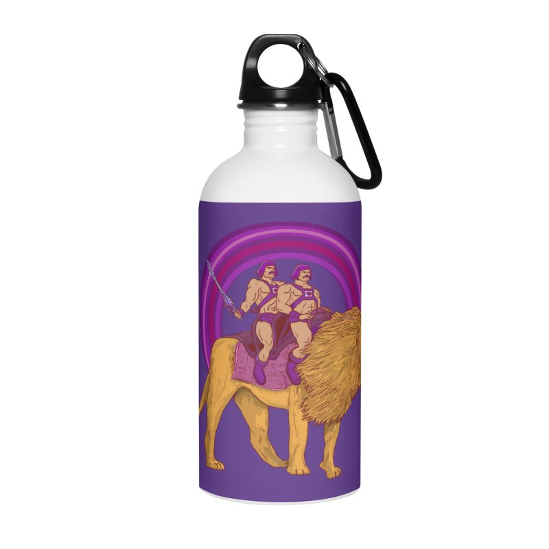 The Power of Love Accessories Water Bottle by Thomas Orrow
