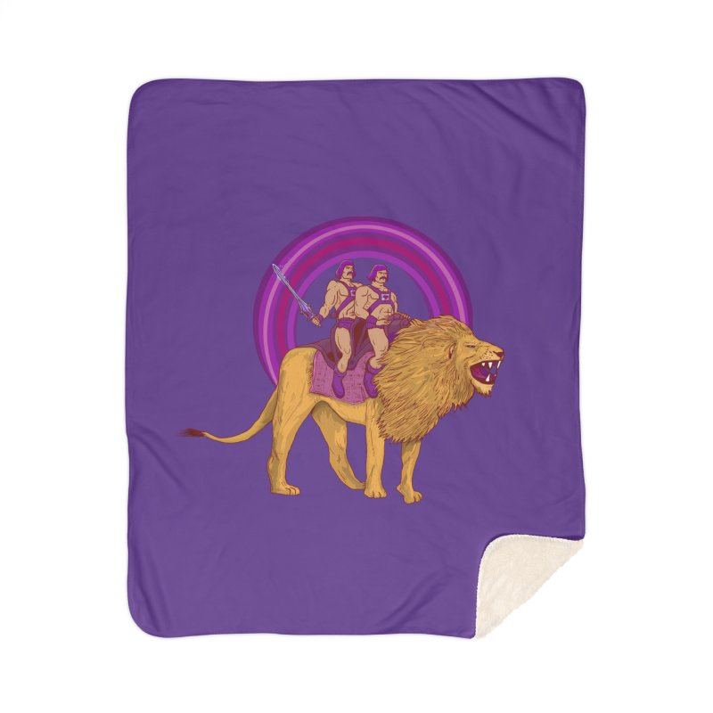 The Power of Love Home Sherpa Blanket Blanket by Thomas Orrow