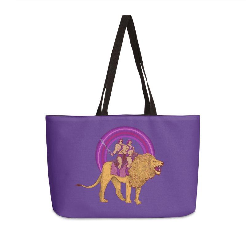 The Power of Love Accessories Weekender Bag Bag by Thomas Orrow