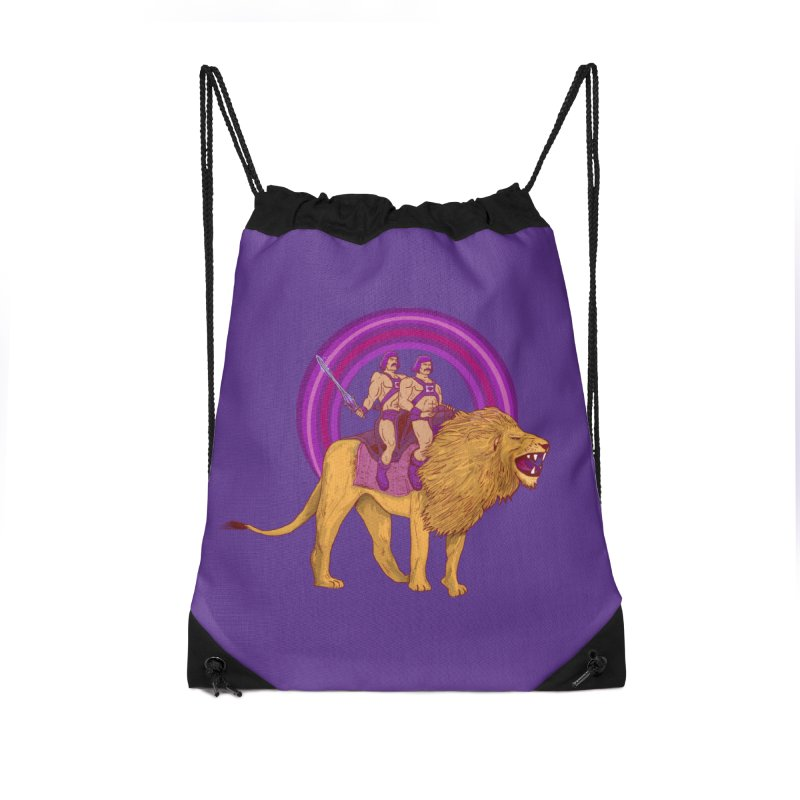 The Power of Love Accessories Drawstring Bag Bag by Thomas Orrow