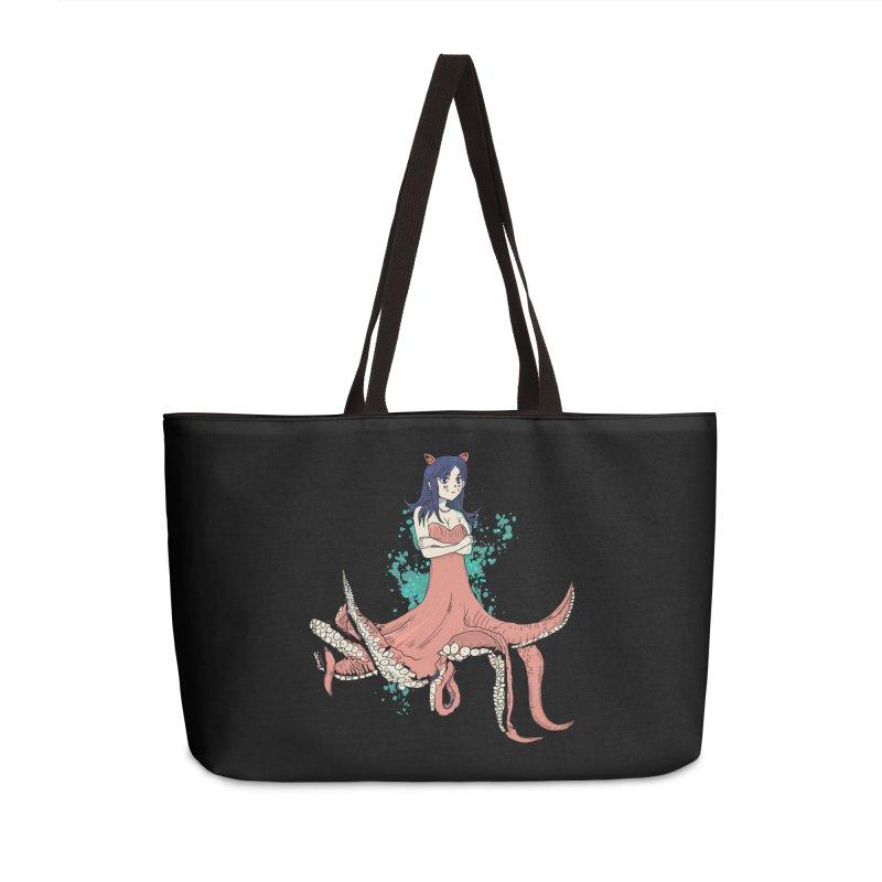 Tentacle Girl Accessories Weekender Bag Bag by Thomas Orrow