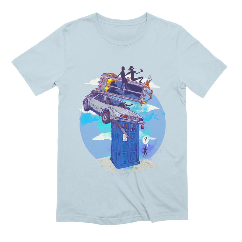 When Timelines Collide Men's Extra Soft T-Shirt by Thomas Orrow