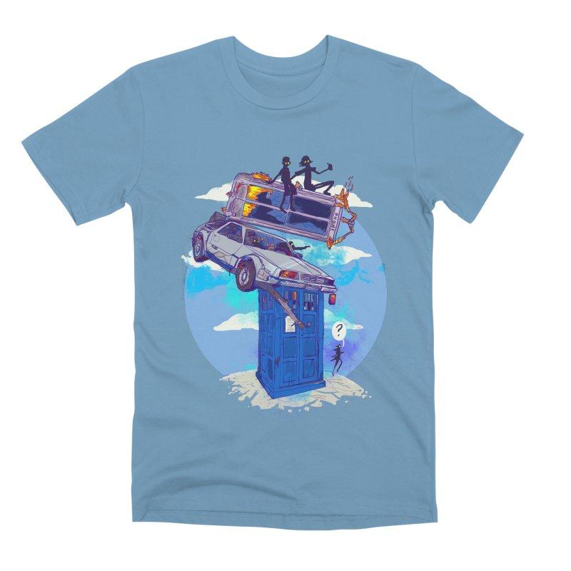 When Timelines Collide Men's Premium T-Shirt by Thomas Orrow