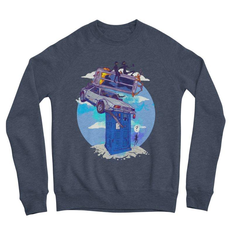 When Timelines Collide Men's Sponge Fleece Sweatshirt by Thomas Orrow