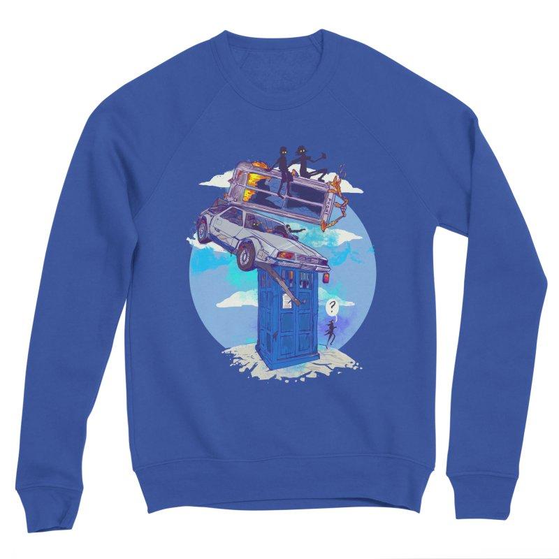 When Timelines Collide Women's Sponge Fleece Sweatshirt by Thomas Orrow
