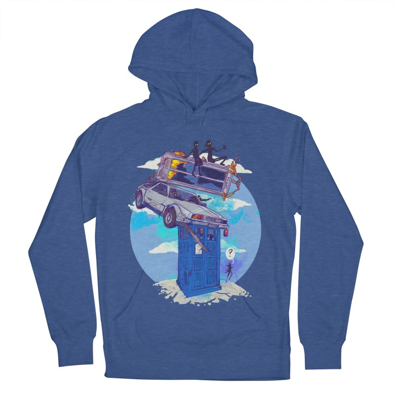 When Timelines Collide Women's French Terry Pullover Hoody by Thomas Orrow