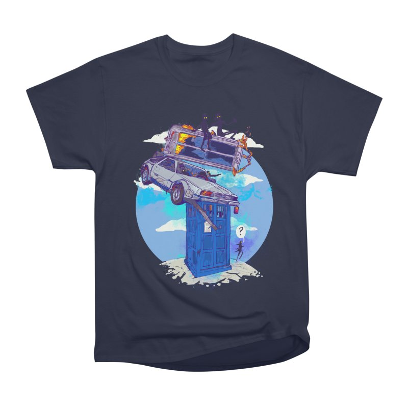 When Timelines Collide Men's Heavyweight T-Shirt by Thomas Orrow