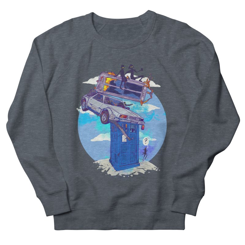 When Timelines Collide Women's French Terry Sweatshirt by Thomas Orrow