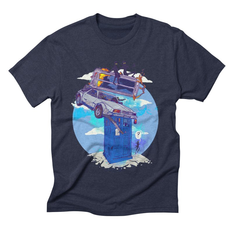 When Timelines Collide Men's Triblend T-Shirt by Thomas Orrow
