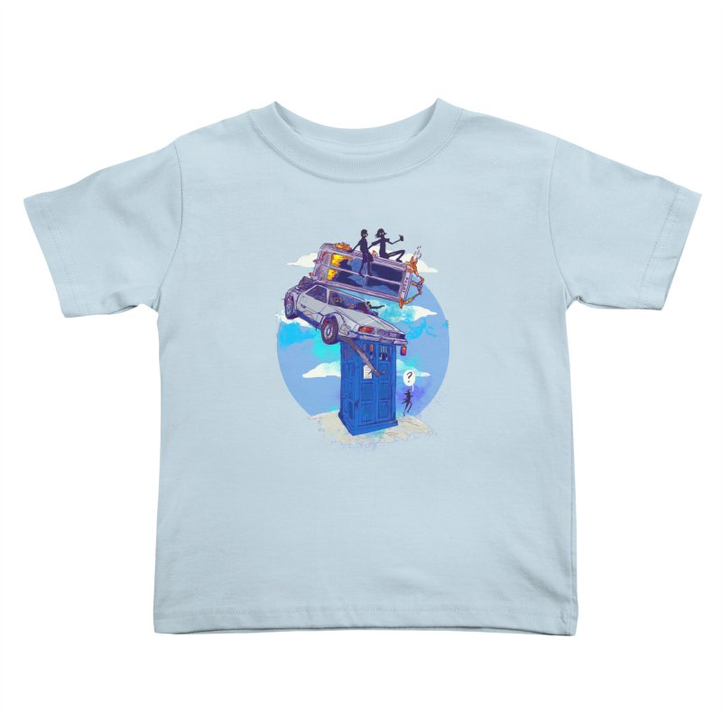 When Timelines Collide Kids Toddler T-Shirt by Thomas Orrow