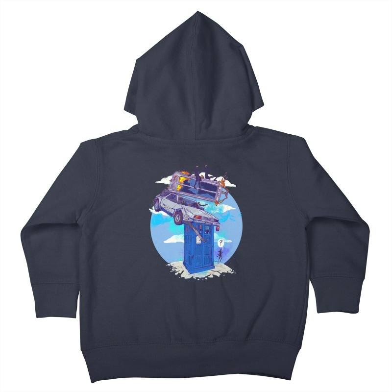 When Timelines Collide Kids Toddler Zip-Up Hoody by Thomas Orrow