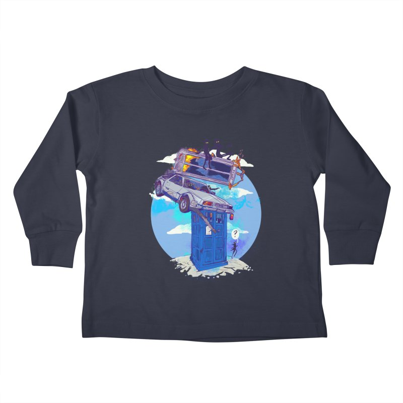 When Timelines Collide Kids Toddler Longsleeve T-Shirt by Thomas Orrow