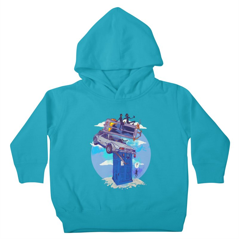When Timelines Collide Kids Toddler Pullover Hoody by Thomas Orrow