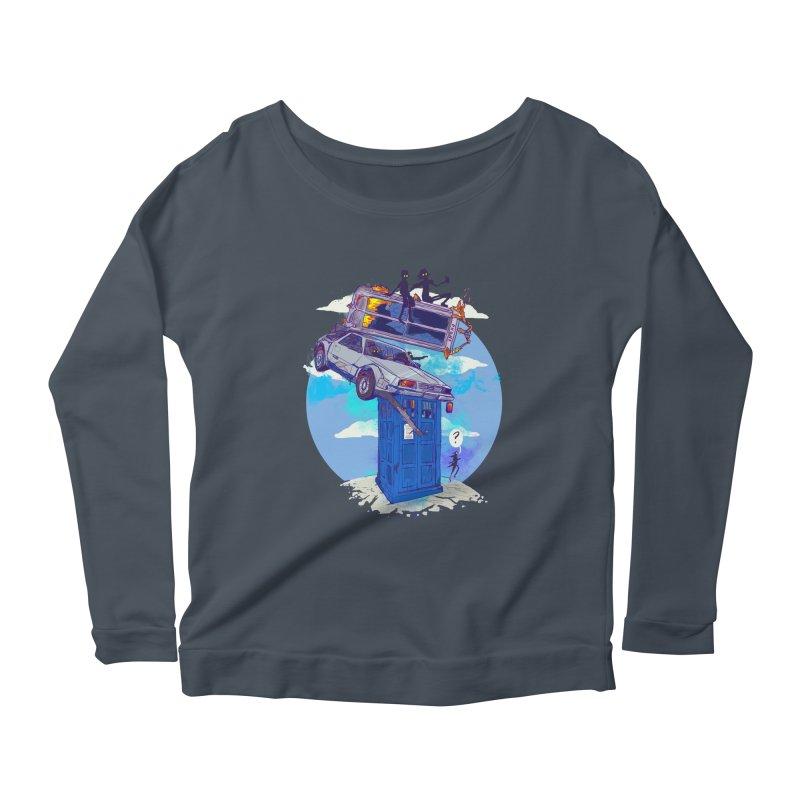 When Timelines Collide Women's Scoop Neck Longsleeve T-Shirt by Thomas Orrow