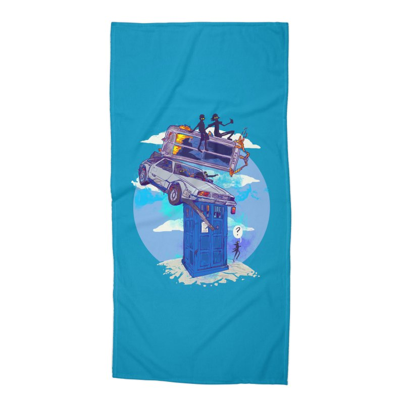 When Timelines Collide Accessories Beach Towel by Thomas Orrow