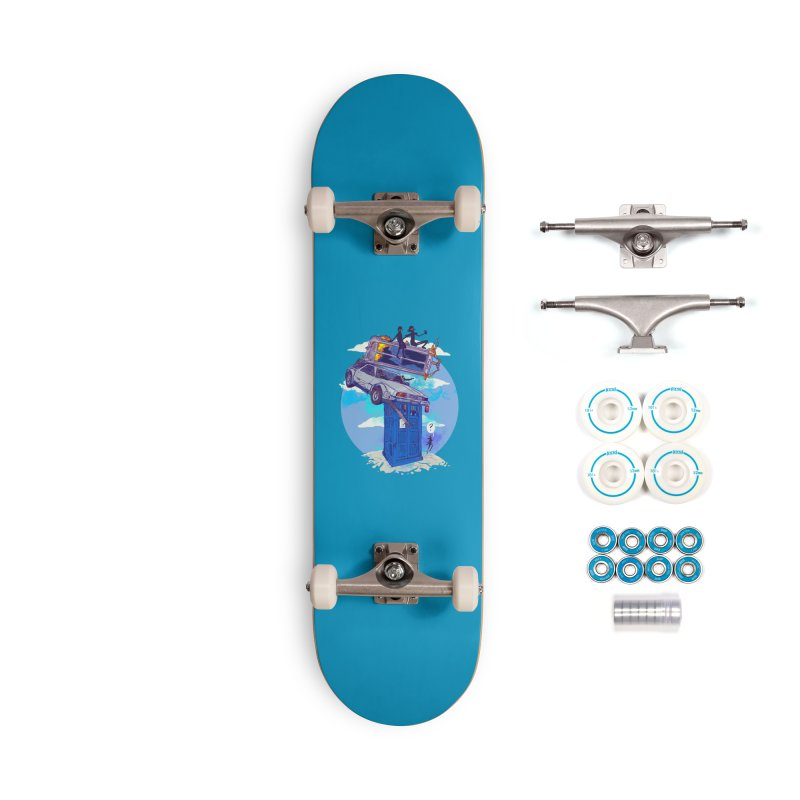 When Timelines Collide Accessories Complete - Basic Skateboard by Thomas Orrow