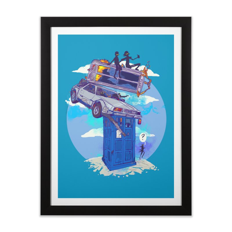 When Timelines Collide Home Framed Fine Art Print by Thomas Orrow