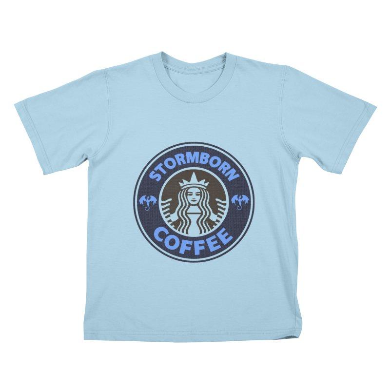 Stormborn's Kids T-Shirt by Thomas Orrow
