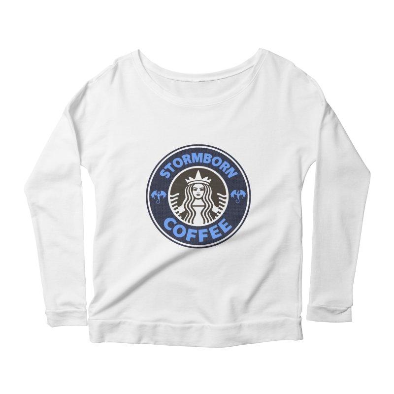 Stormborn's Women's Scoop Neck Longsleeve T-Shirt by Thomas Orrow