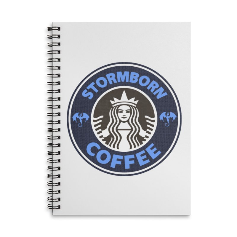 Stormborn's Accessories Lined Spiral Notebook by Thomas Orrow