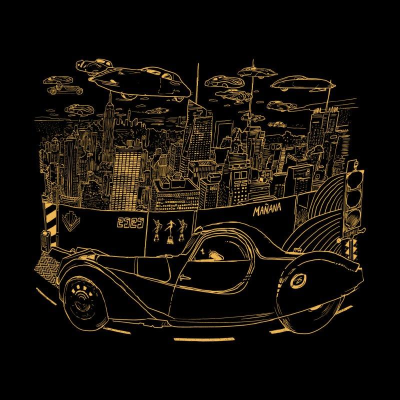 Deco Town Women's T-Shirt by Thomas Orrow