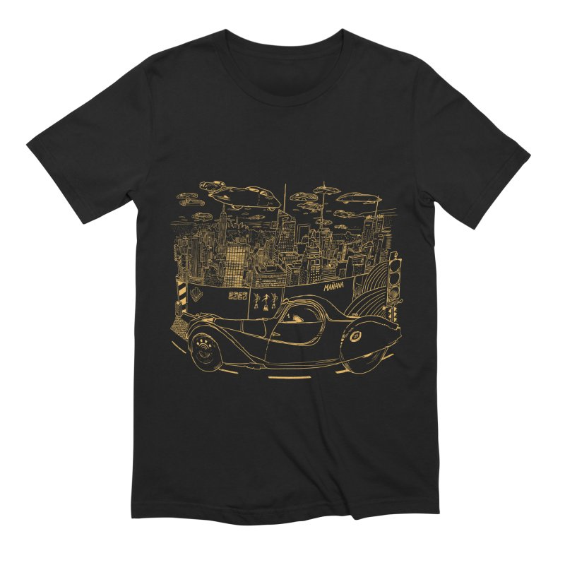 Deco Town Men's Extra Soft T-Shirt by Thomas Orrow