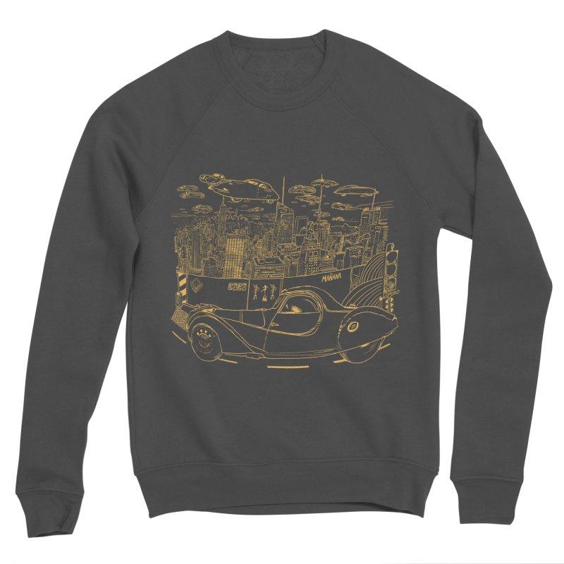 Deco Town Men's Sponge Fleece Sweatshirt by Thomas Orrow