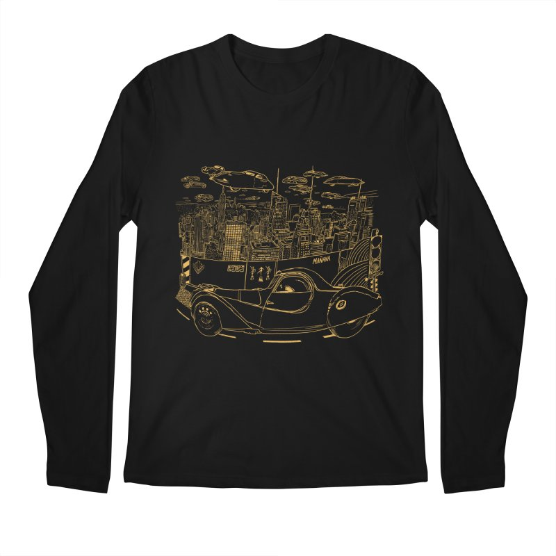 Deco Town Men's Regular Longsleeve T-Shirt by Thomas Orrow