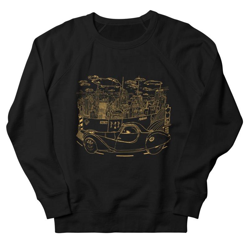 Deco Town Men's French Terry Sweatshirt by Thomas Orrow