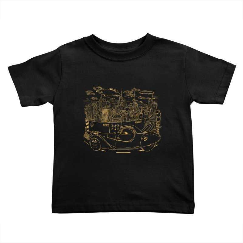 Deco Town Kids Toddler T-Shirt by Thomas Orrow