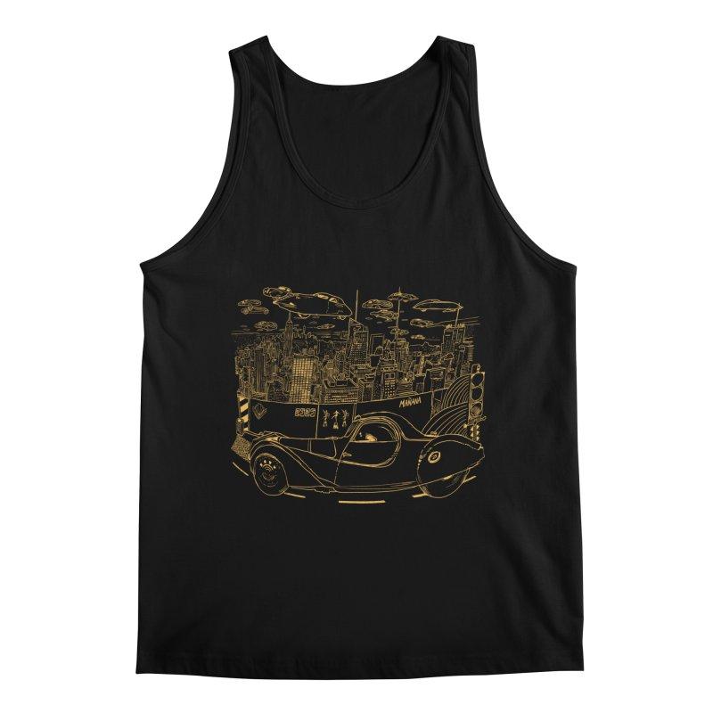 Deco Town Men's Regular Tank by Thomas Orrow