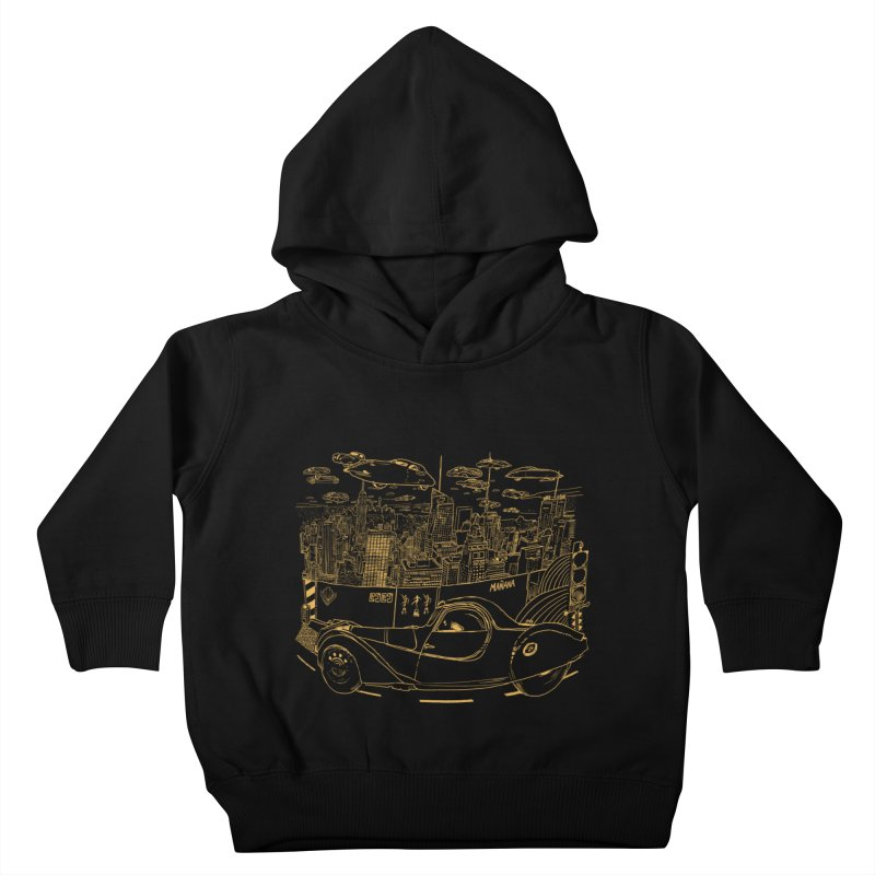 Deco Town Kids Toddler Pullover Hoody by Thomas Orrow
