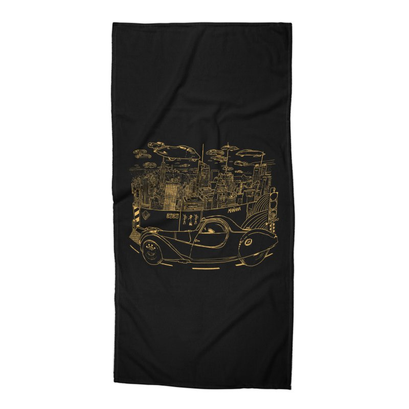 Deco Town Accessories Beach Towel by Thomas Orrow