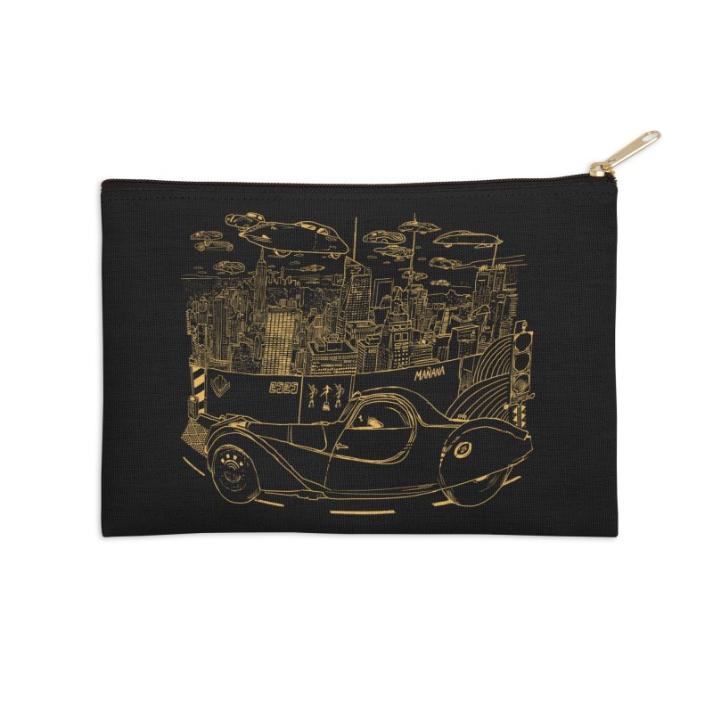 Deco Town Accessories Zip Pouch by Thomas Orrow