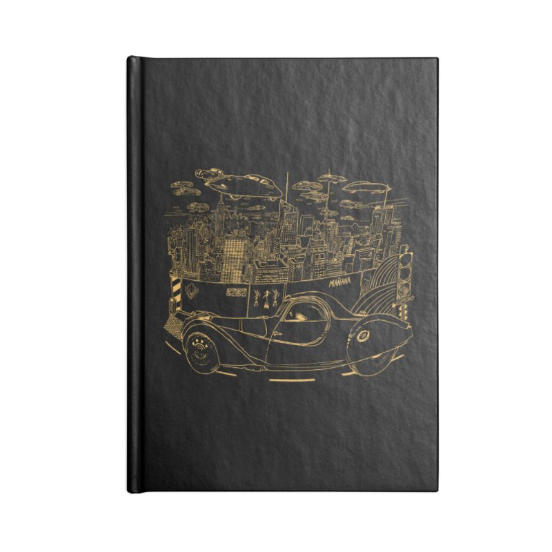 Deco Town Accessories Blank Journal Notebook by Thomas Orrow