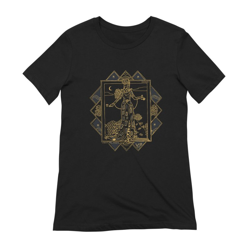 Virtua Deco Women's Extra Soft T-Shirt by Thomas Orrow