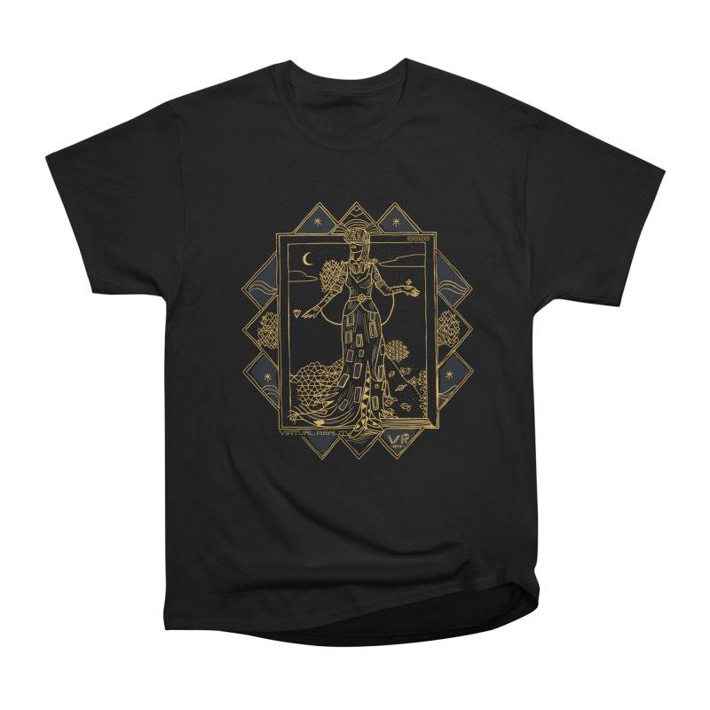 Virtua Deco Men's Heavyweight T-Shirt by Thomas Orrow
