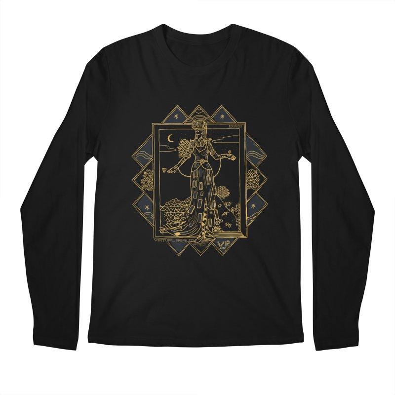 Virtua Deco Men's Regular Longsleeve T-Shirt by Thomas Orrow