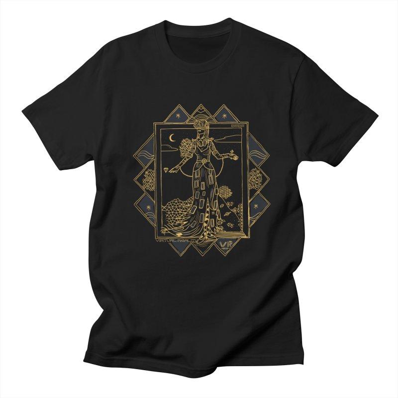 Virtua Deco Men's Regular T-Shirt by Thomas Orrow